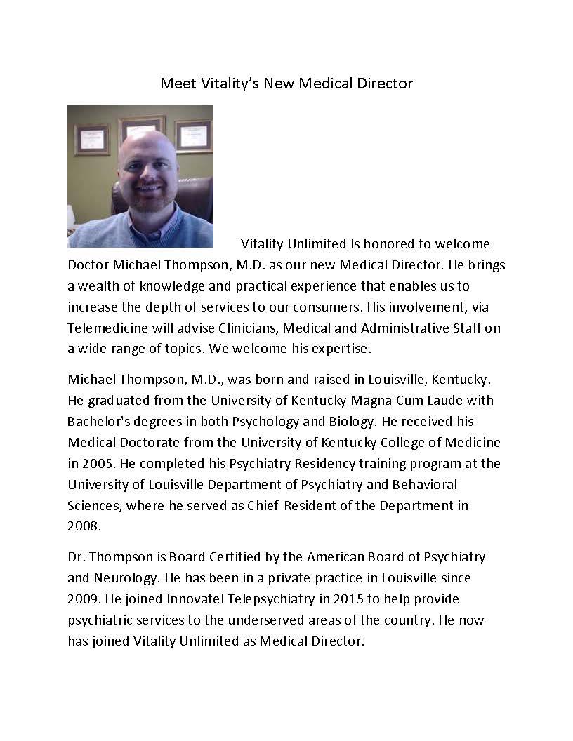DR. Thompson Website Post